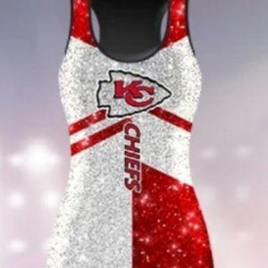 NIB Kansas City Chiefs Women's Sparkle Jer…